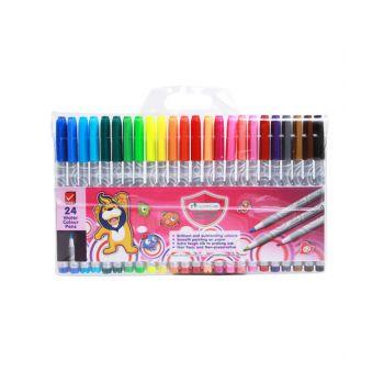 ปากกาสีเมจิก Master Art 24 สี