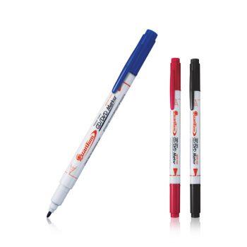 ปากกาเขียน CD/DVD 2 หัว Quantum QDVD1020
