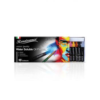 (Clearance) สีชอล์กน้ำมัน ระบายน้ำ 18 สี Renaissance (SD199036)