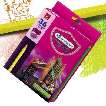 (LD108533) สีไม้ แท่งยาว 36 สี Master Art