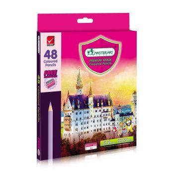 (LD128661) มาสเตอร์อาร์ต ดินสอสีแท่งยาว 48 สี