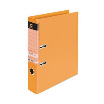 (Clearance) แฟ้มแคบ ตราช้าง รุ่น 2101A4 สัน 2 นิ้ว ขนาด A4 สีส้ม แพ็ค 3 เล่ม