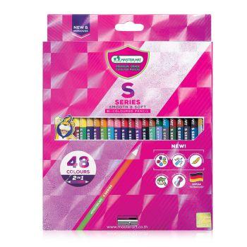(Clearance) สีไม้ Master Art รุ่น S Series 2 หัว 48 สี (SD273248)
