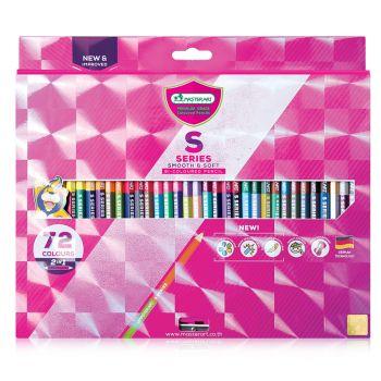 (Clearance) สีไม้ Master Art รุ่น S Series 2 หัว 72 สี (SD273262)