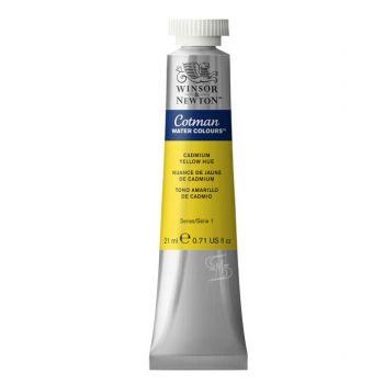 สีน้ำ Winsor & Newton Cotman 21 มล. เบอร์ 109 Cadmium Yellow Hue