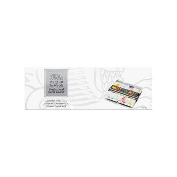 สีน้ำ Winsor & Newton ชุด AWC 12สี Black Box #0193548