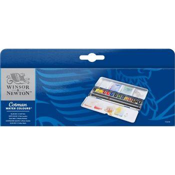 สีน้ำ Winsor & Newton Cotman ชุด BLUE BOX เบอร์ 0390453