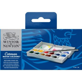 ชุดสีน้ำก้อน Winsor & Newton Cotman