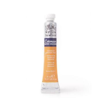 สีน้ำ Winsor & Newton Cotman 8 มล. เบอร์ 090 Cadmium Orange Hue