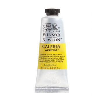 สีอะคริลิค Winsor & Newton Galeria 500 มล. เบอร์ 120 Cadmium Yellow