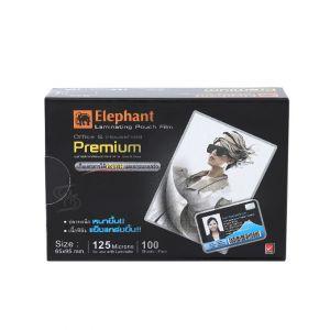 ฟิล์มเคลือบบัตร ตราช้าง Premium 65x95มม.125 ไมครอน