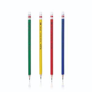 ดินสอดำ Quantum QP930 HB (กล่อง 12 แท่ง) (คละสี)