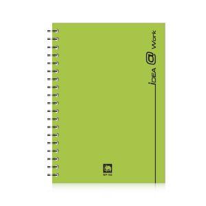 สมุดบันทึกริมลวด ตราช้าง WP-102 ขนาด A5 (คละสี)