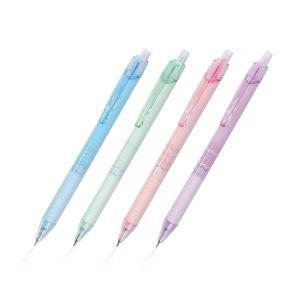 Set : ปากกา Rhythm 0.5 หมึกน้ำเงิน (คละสี) Quantum จำนวน 4 แท่ง