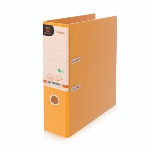 แฟ้มสันกว้าง ตราช้าง รุ่น 2100A4 สัน 3 นิ้ว ขนาด A4 สีส้ม