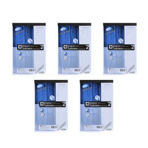 Set : ใบส่งของ เบอร์ #2 3 ชั้น PDB932Y ตราช้าง จำนวน 5 เล่ม