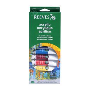 สีอะคริลิค Reeves ชุด 12X10 มล. 8493200