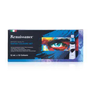สีน้ำ Renaissance ชุด12 สี 12 มล.
