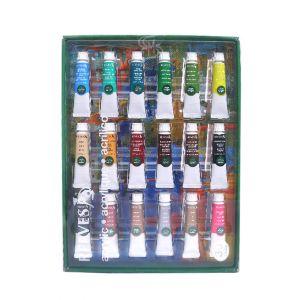สีอะคริลิค Reeves ชุด 36 สี รุ่น 4910215 แพ็คกล่อง
