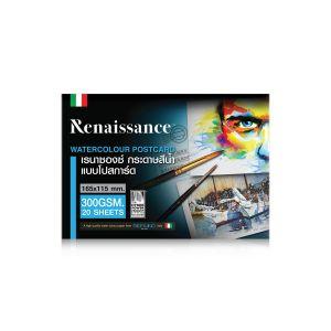 โปสการ์ด Renaissance 300แกรม ขนาด16.5 x 11.5cm