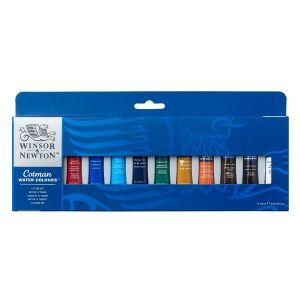 ชุดสีน้ำ Winsor & Newton Cotman Painting Plus 12x8 มล. รุ่น 0390377