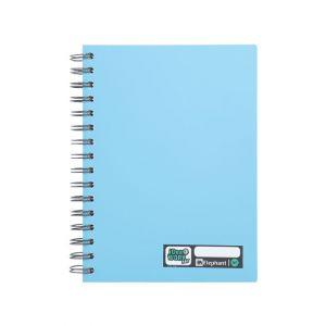 สมุดบันทึกปกแข็งริมลวด ตราช้าง รุ่น WP-114 ขนาด A5 (คละสี)