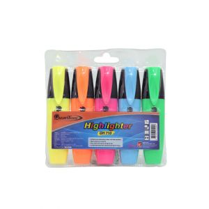 ปากกาเน้นข้อความ Quantum รุ่น QH710 คละสี บรรจุ 5 แท่ง