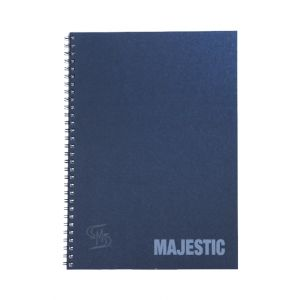 สมุดบันทึกปกแข็งริมลวด ตราช้าง รุ่น MAJESTIC-101 ขนาด B5 (คละสี)