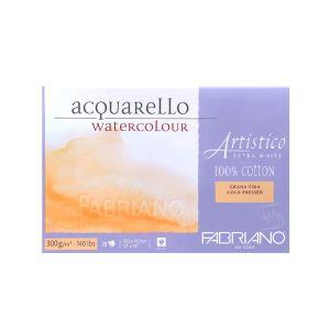 กระดาษวาดภาพ Fabriano Artistico 300แกรม ผิวกึ่งหยาบ ขนาด30.5x45.5cm 20 แผ่น