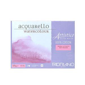 กระดาษวาดภาพ Fabriano Artistico 300แกรม ผิวเรียบ ขนาด23x30.5cm 20 แผ่น