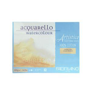 กระดาษวาดภาพ Fabriano Artistico 300แกรม ผิวกึ่งหยาบ ขนาด23X30.5cm 20 แผ่น
