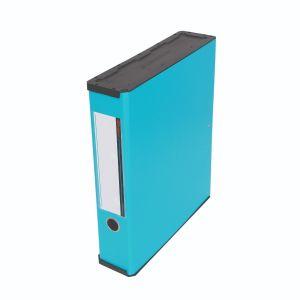 แฟ้มกล่องเก็บเอกสาร ตราช้าง UBOC 01 สีฟ้าบลูสกาย