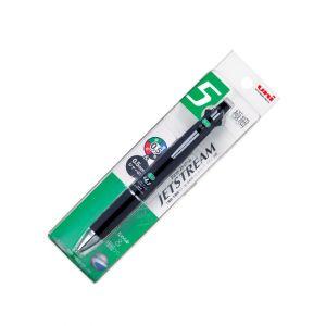 ปากกาลูกลื่น UNI Jetstream 5 หัว MSXE5-1000-05 ดำ (แพ็ค1)