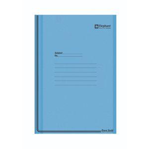 แฟ้มพับ ตราช้าง PSF999 สีฟ้า (1 แถม 1)