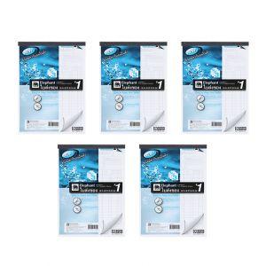 Set : ใบส่งของคาร์บอนในตัว เบอร์#1 3 ชั้น CDB931 จำนวน 5 เล่ม