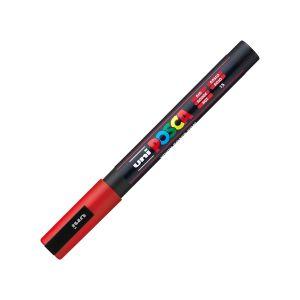 ปากกามาร์คเกอร์ UNI POSCA PC-3M แดง (อินเตอร์)