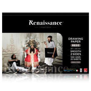 (Clearance) เรนาซองซ์ แพดเรียบ 100G A3 297x420 RE03 (limited) (SD266004)