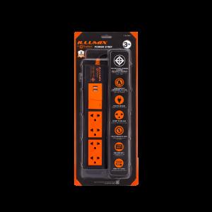 ปลั๊กไฟ ตราช้าง Illumix รุ่น 4103T USB 4 ช่อง 1 สวิตซ์ 3 เมตร