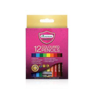 สีไม้ Master Art แท่งสั้น 12 สี