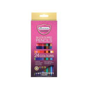 สีไม้ Master Art 2 หัว 24 สี