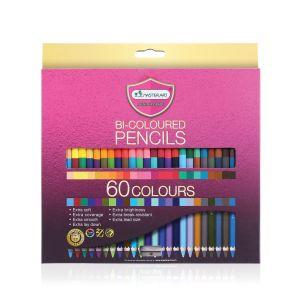 สีไม้ Master Art 2 หัว 60 สี