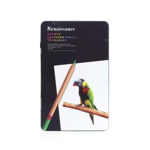 (Clearance) สีไม้ Renaissance เกรดอาร์ตติส รุ่น 12 สี (SD275853)