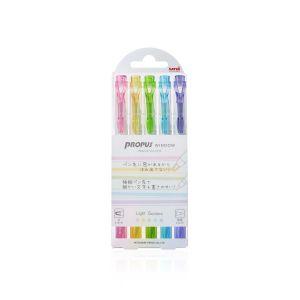ปากกาเน้นข้อความ UNI Propus PUS-103T 5C2 (JP) (คละสี)