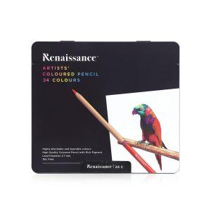 สีไม้ Renaissance เกรดอาร์สติส 24 สี
