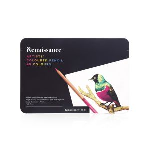 สีไม้เกรดอาร์ตติส เรนาซองซ์ รุ่น 48 สี (กล่องเหล็ก)