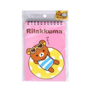 สมุดบันทึกปกอ่อนสันห่วง rilakkuma - 005