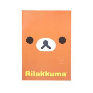 สมุดบันทึกปก PP ใส rilakkuma - 001
