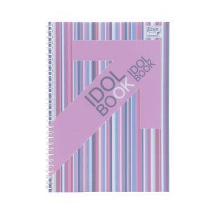 สมุดบันทึกริมลวด ตราช้าง WID-101 ขนาด B5 (คละสี)