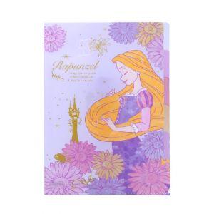 แฟ้มพลาสติกแยกเอกสารได้ 5 ช่อง ขนาด A4 ลาย Rapunzel