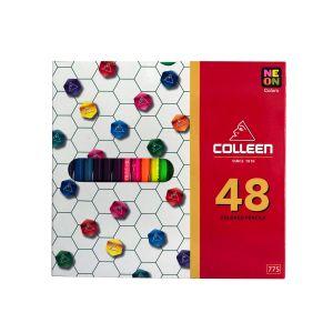 สีไม้ Colleen 48 สี 48 แท่ง กล่องกระดาษ